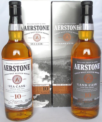 Aerstone 10yo Land and Sea Cask 70cl