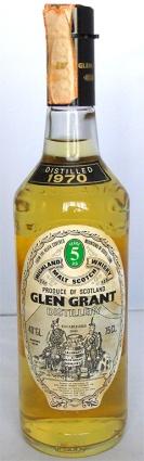 Glen Grant 5yo 1970 75cl